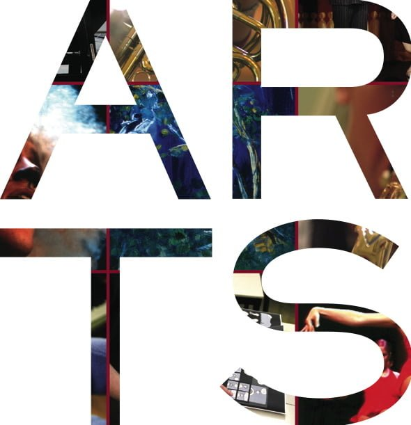 the arts right banner