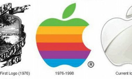 history of apple computers logos
