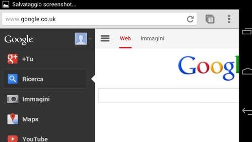 nuova homepage google mobile