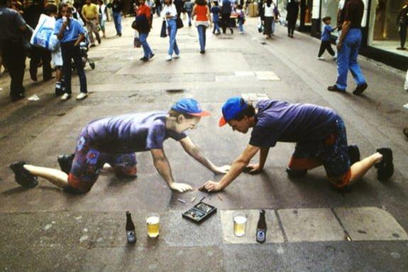artisti-di-strada-3d