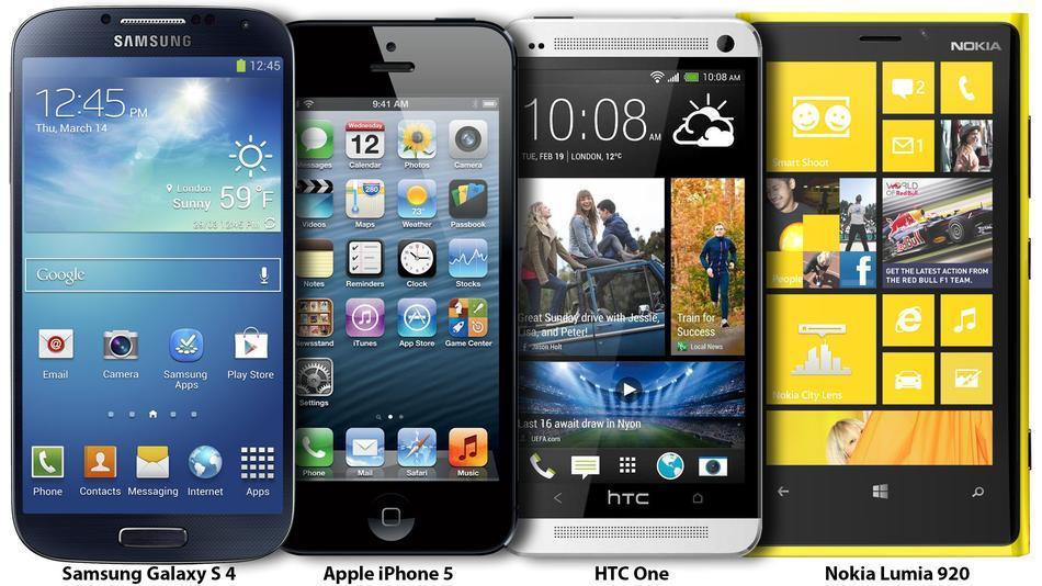smartphone comparison 4 up2