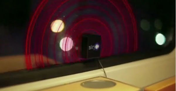 SkyGo: la pubblicità nei finestrini dei treni in Germania