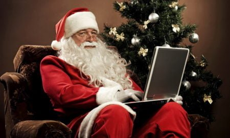 New Year wallpapers funny  santa claus 051268