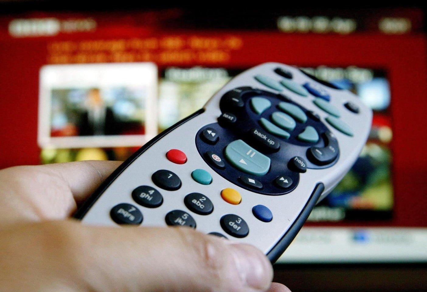 sky tv remote o 1