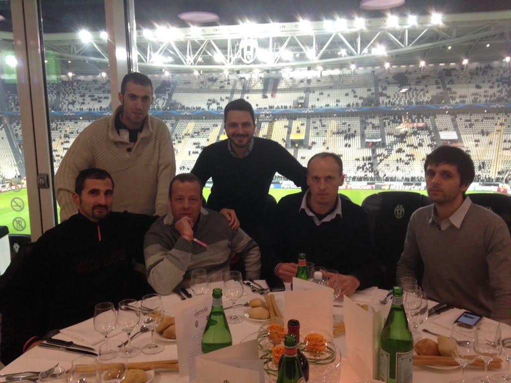 I vincitori della prima fase allo Juventus Stadium...il trattamento è da VIP!