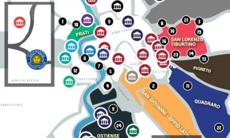 mappa studenti roma