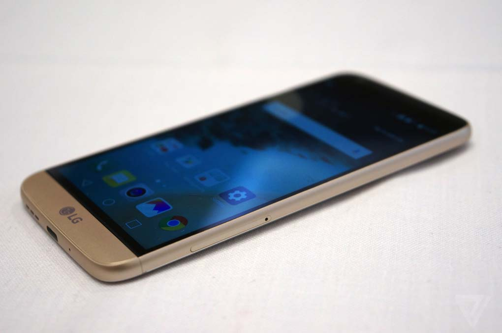 Il profilo dell'LG G5