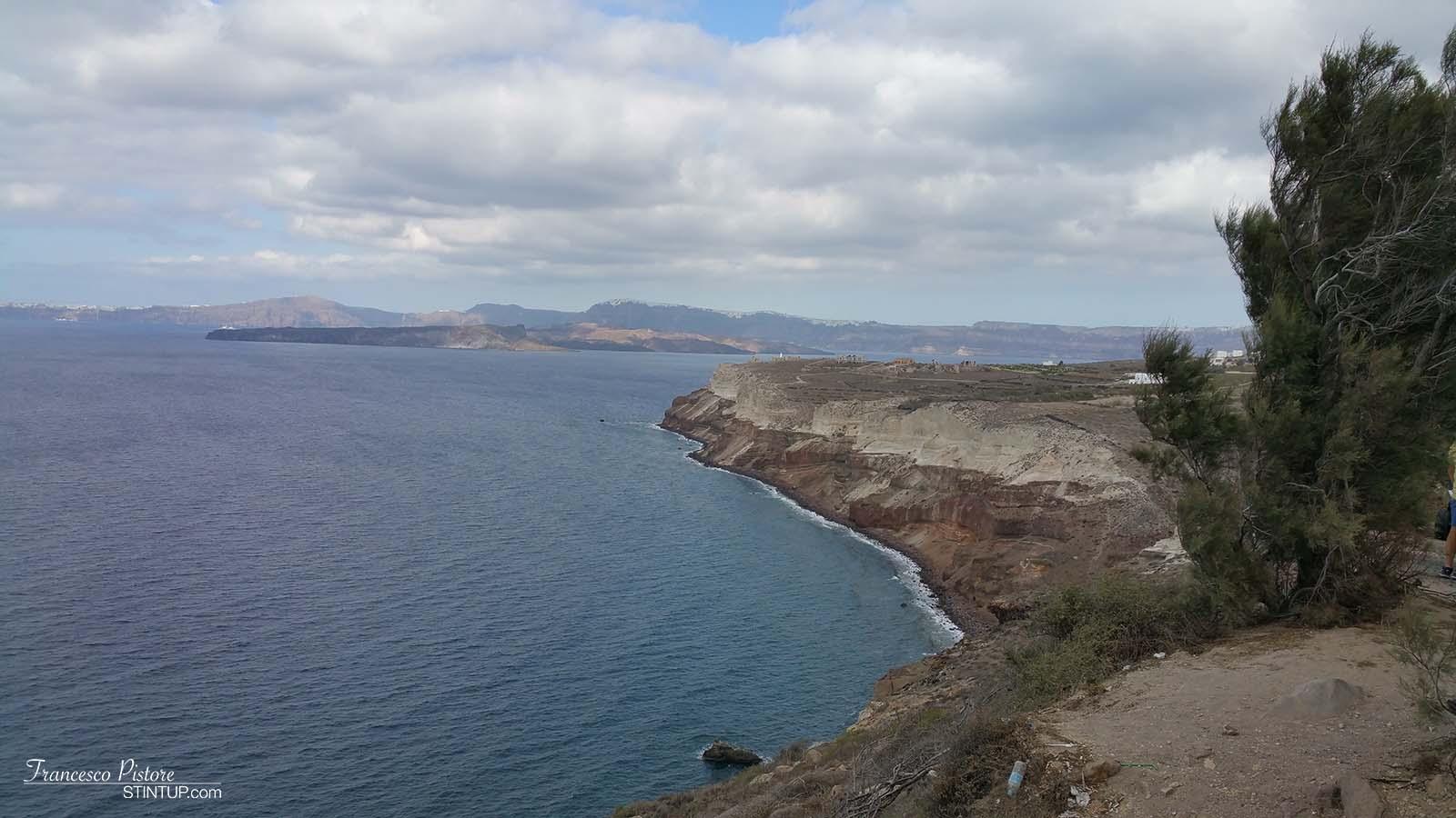 Vista dal Faro di Akrotiri