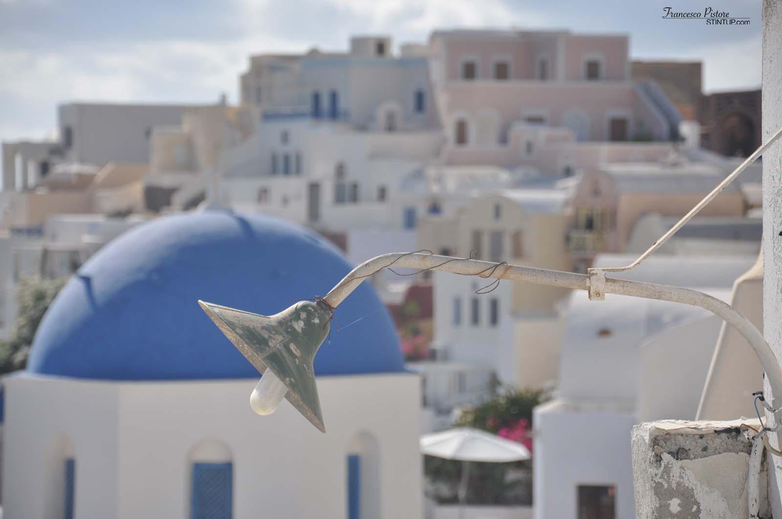 Scorcio a Santorini