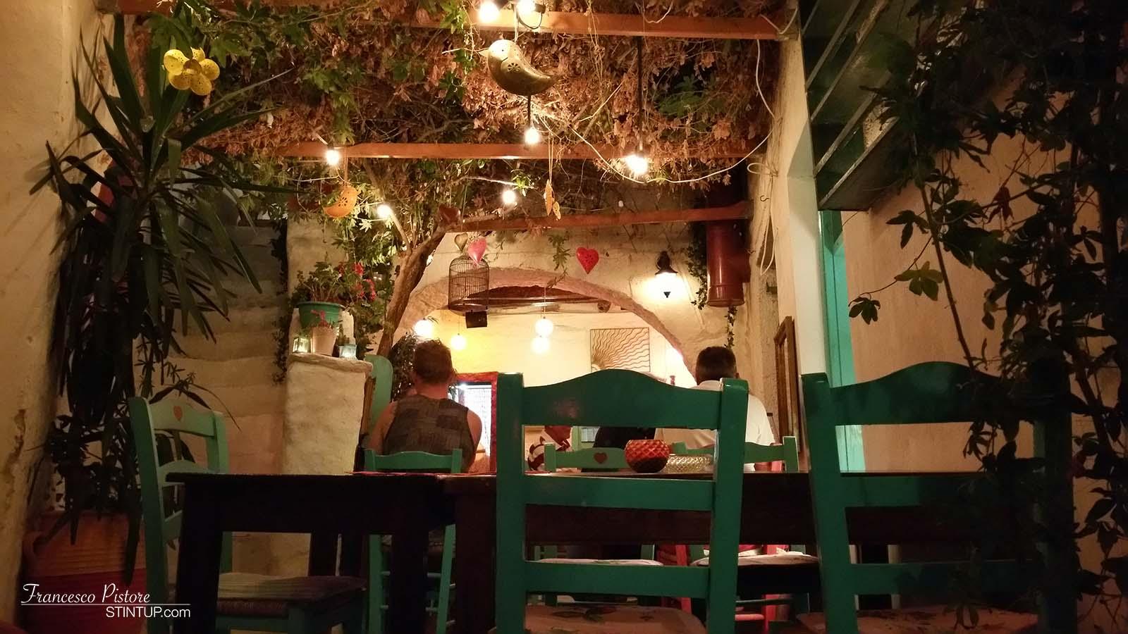 Interno del ristorante Katogi