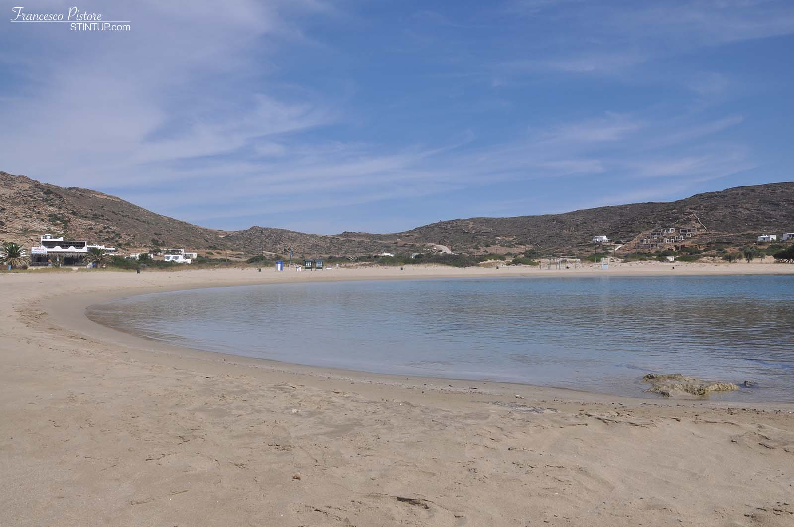 La spiaggia di Maganari