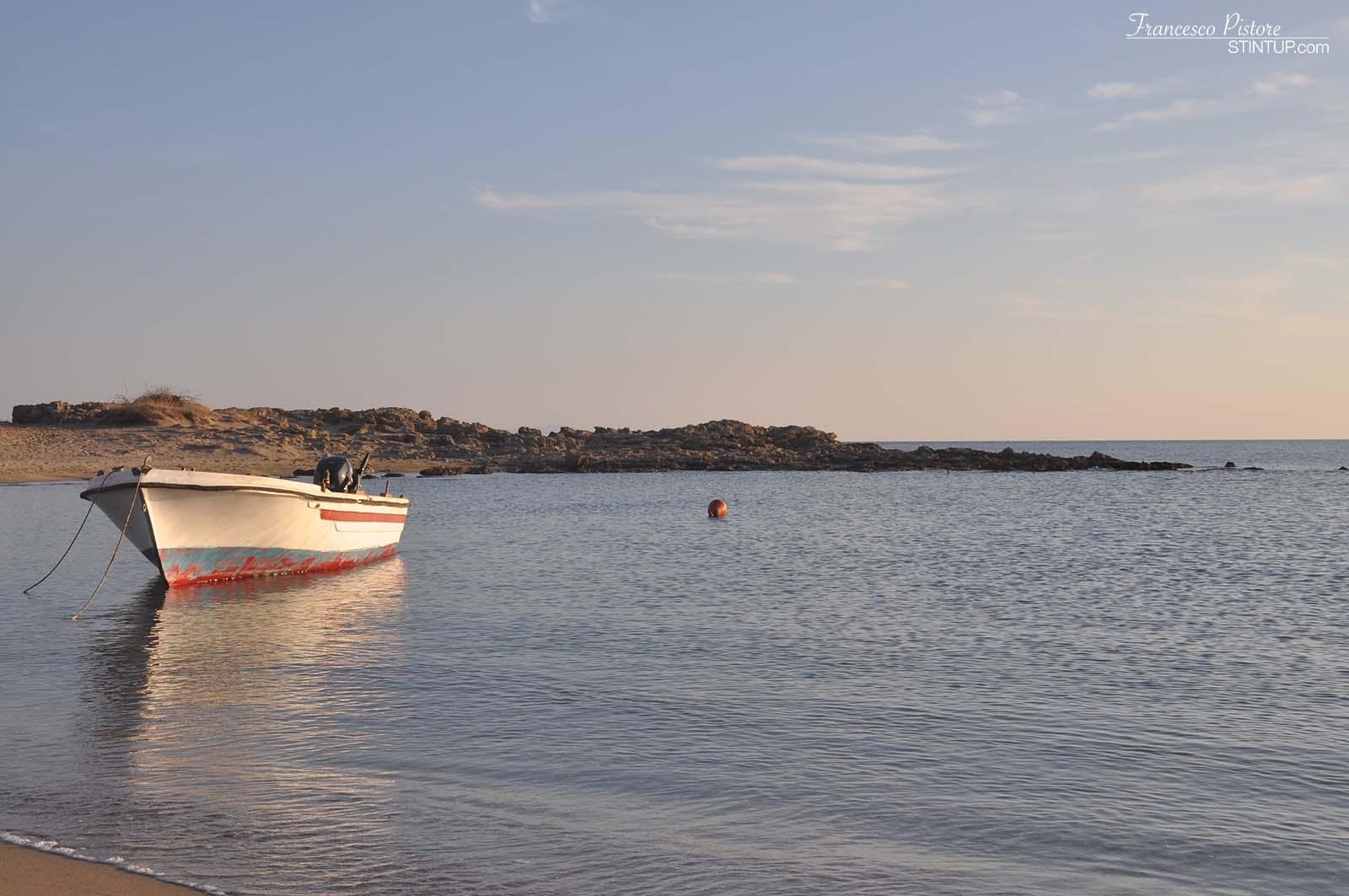 Tramonto di Maganari, isola di Ios