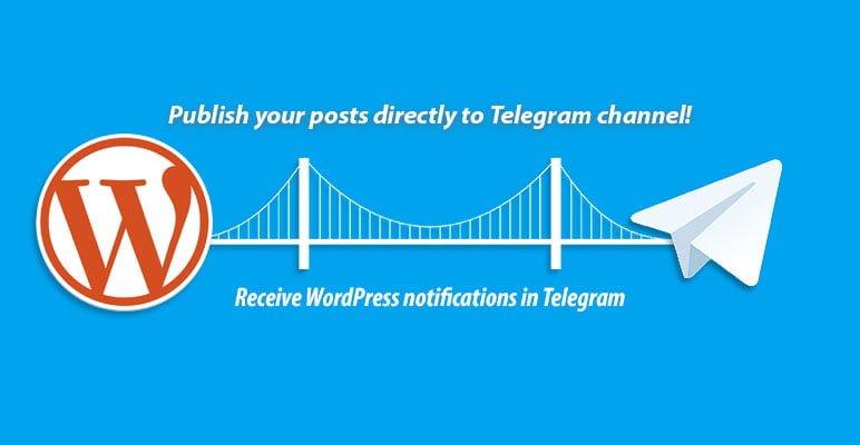 telegram wordpress