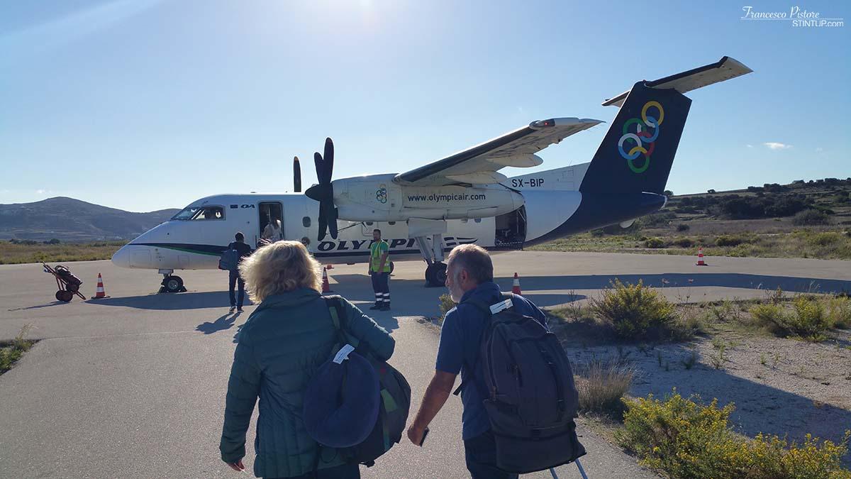 Il volo della Aegean diretto ad Atene