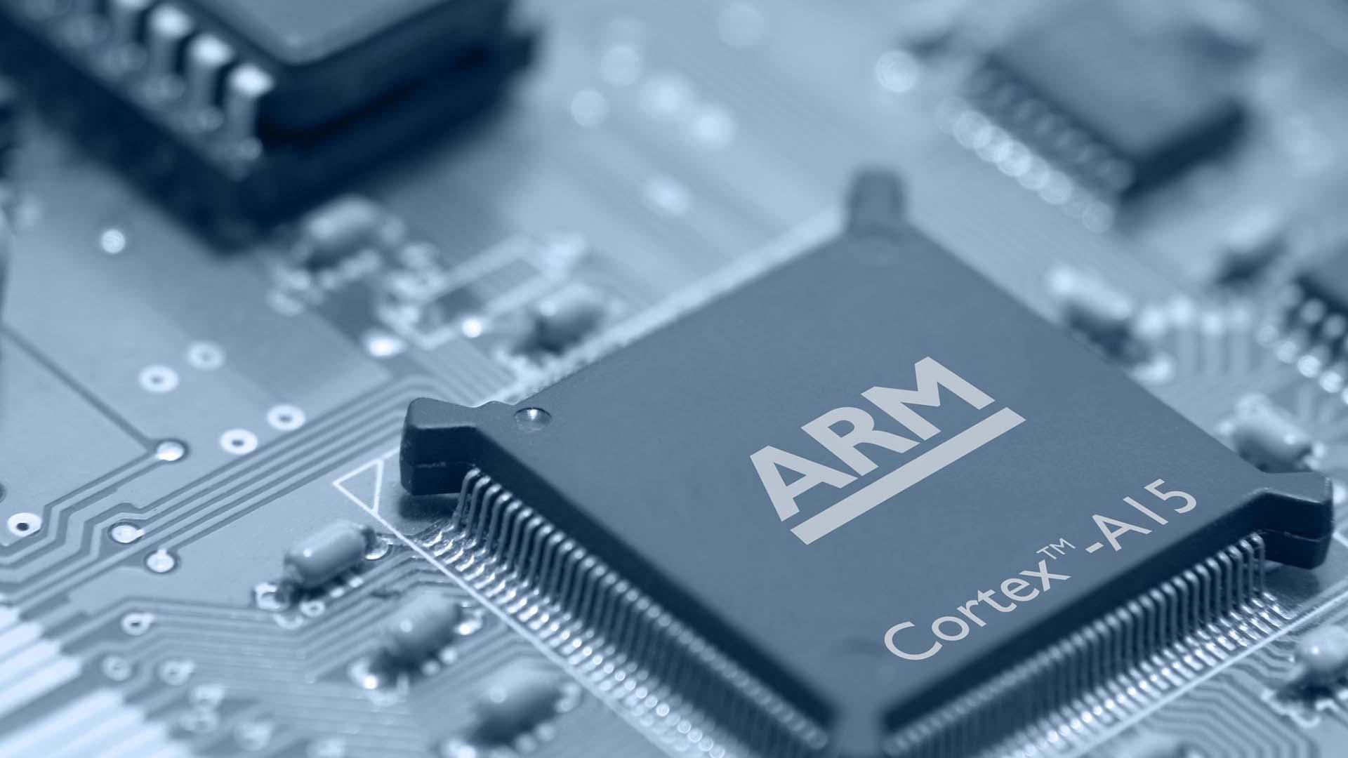 Un chip ARM