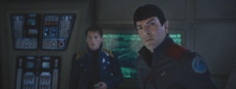 Un frame dal nuovo Star Trek Beyond
