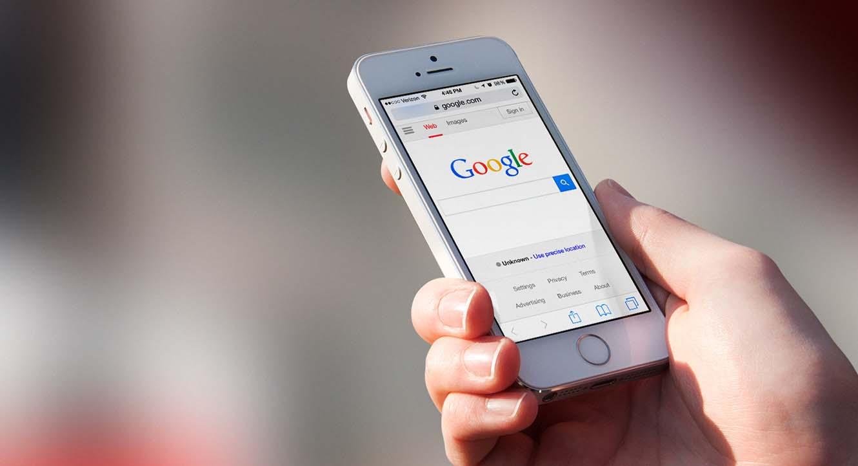 mobile web data google
