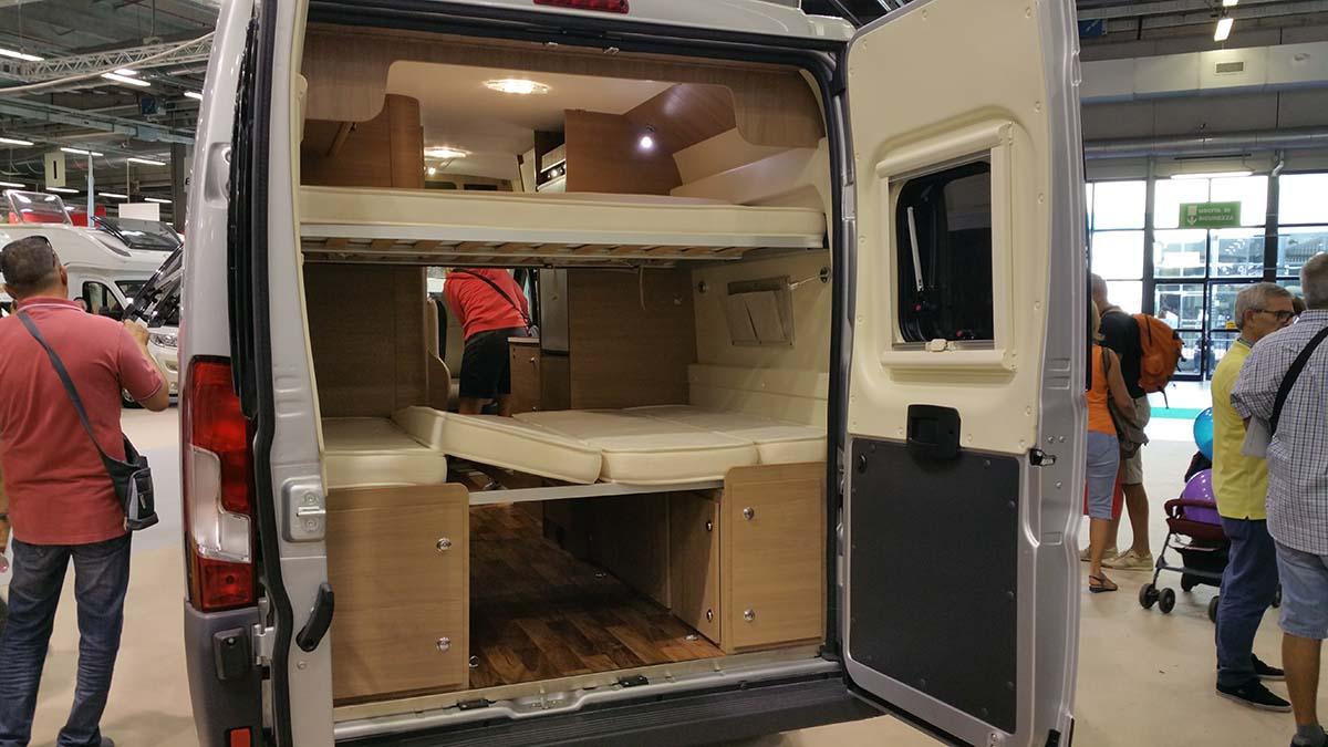 Le nuove soluzioni riguardanti i furgonati
