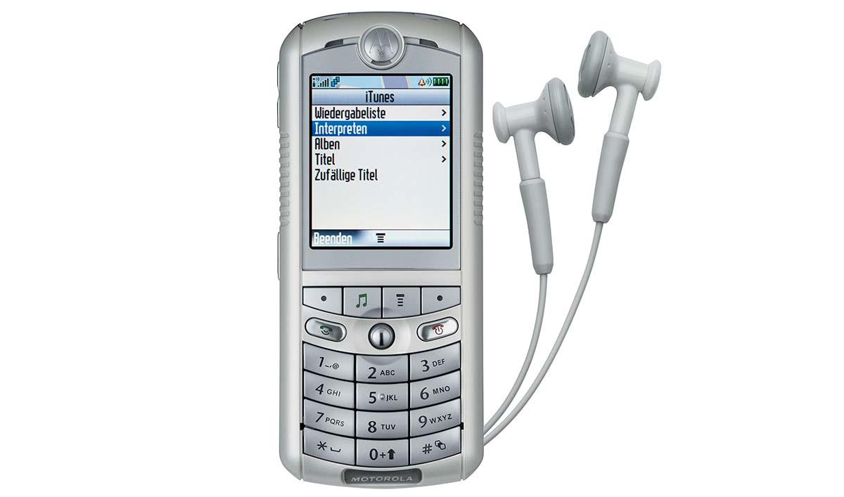 14. Motorola ROKR
