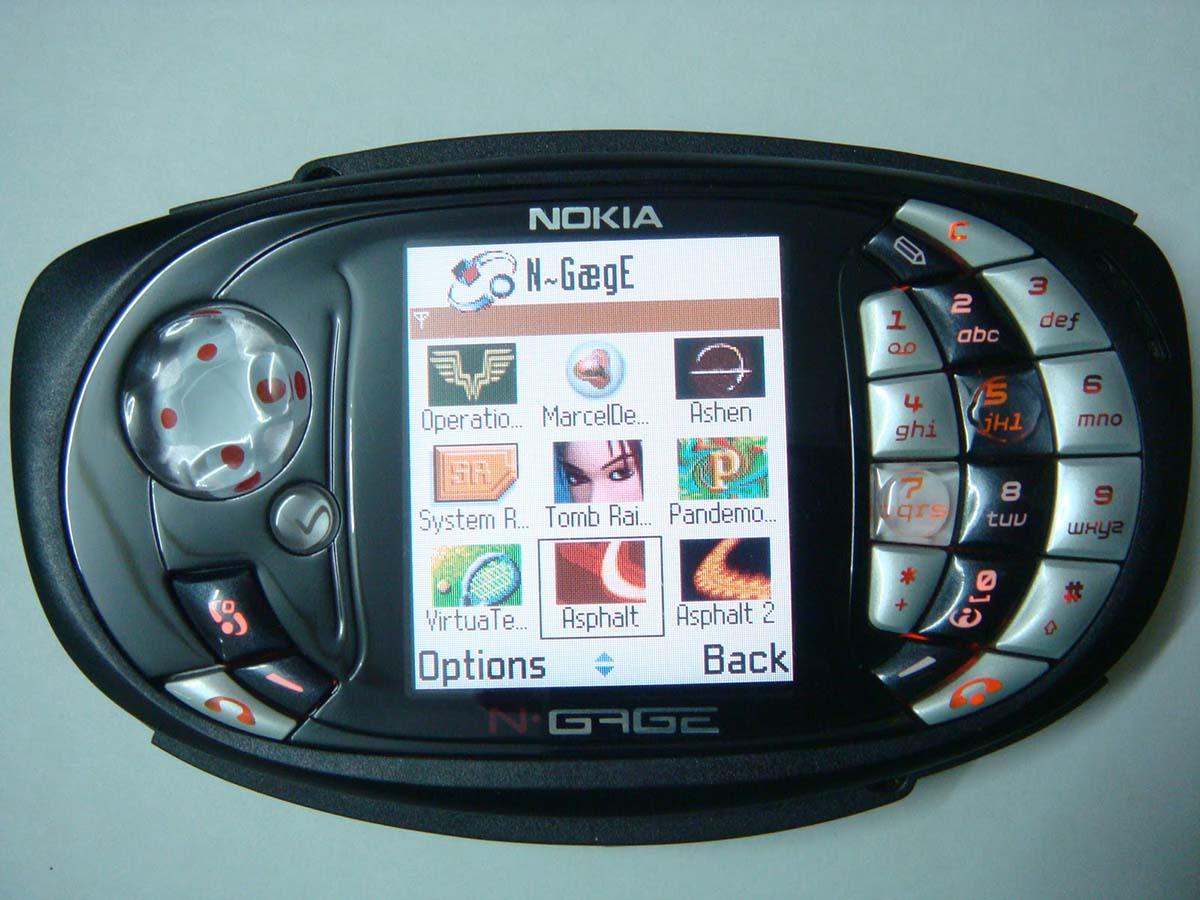 2. Nokia N-Gage