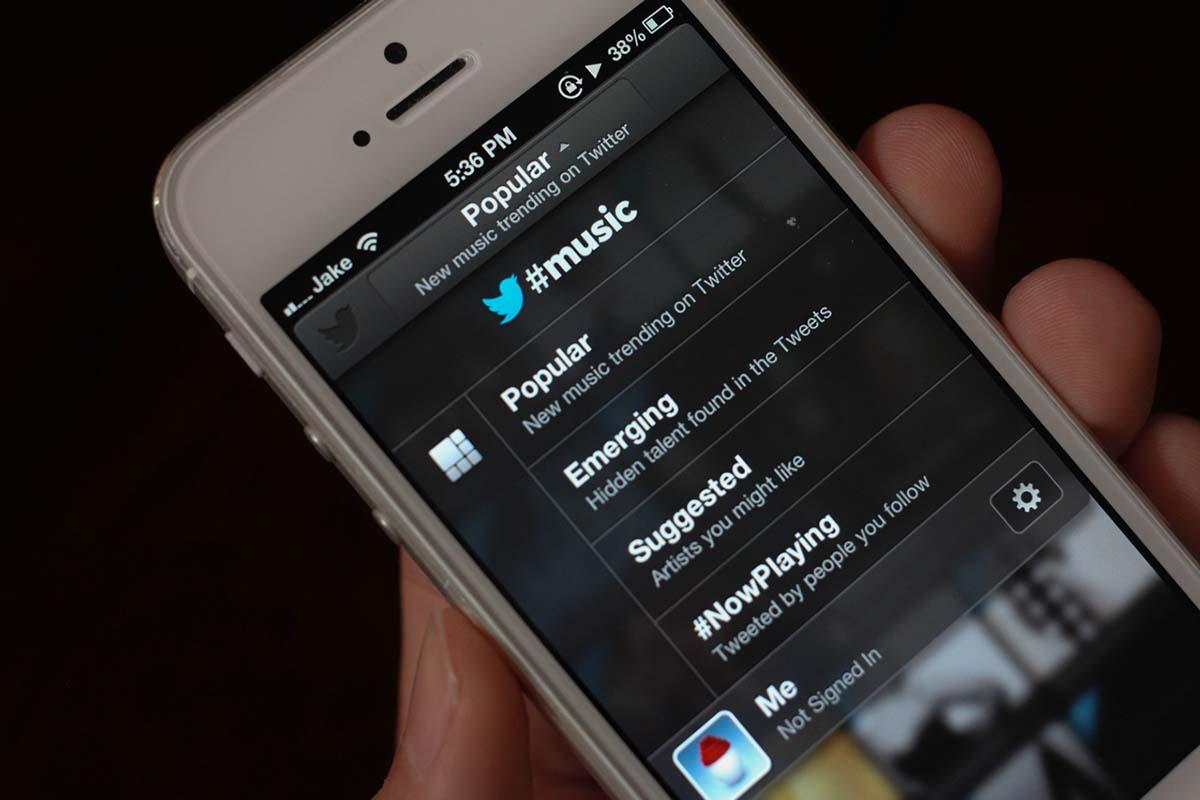 12. Twitter Music