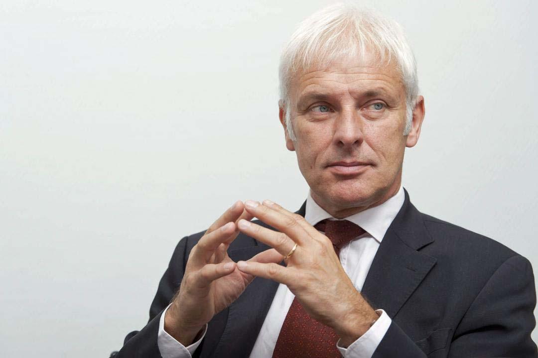 Matthias Müller, CEO VW Group