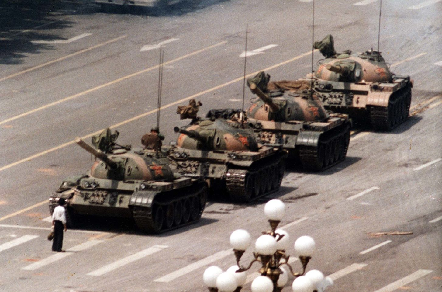 Tank Man | Jeff Widener