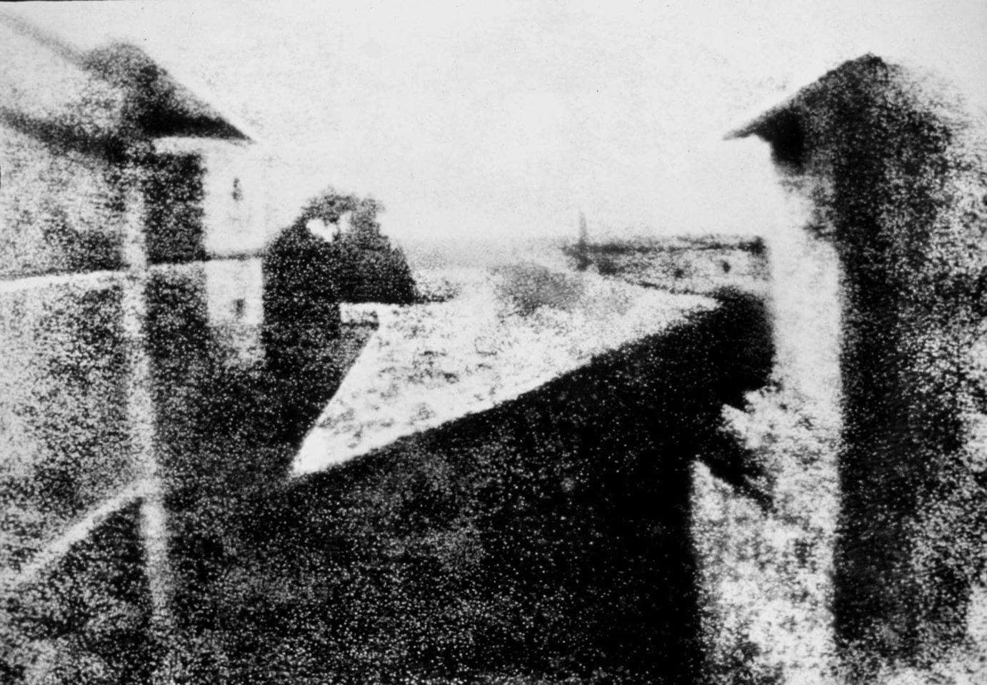 View from the Window at Le Gras | Joseph Nicéphore Niépce, 1826 ca.