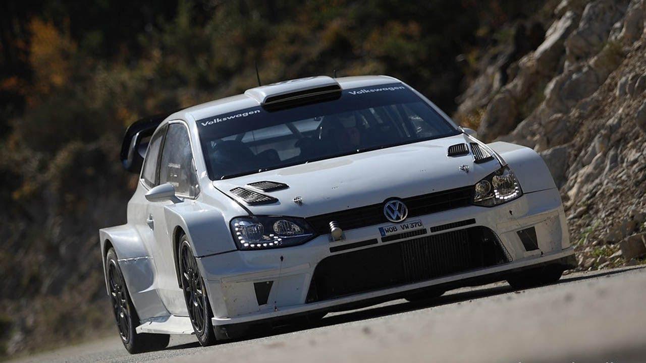La Polo WRC 2017 durante i test di quest'anno. Non la vedremo mai correre nelle PS, purtroppo