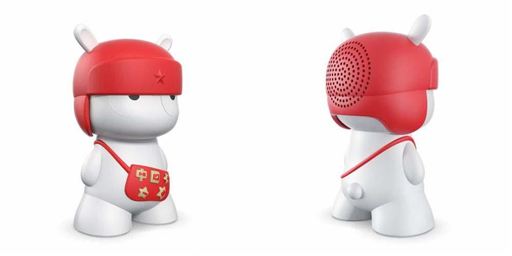 Original Xiaomi Mi Rabbit Bluetooth 4 0 Wireless Speaker Red 378346 copy