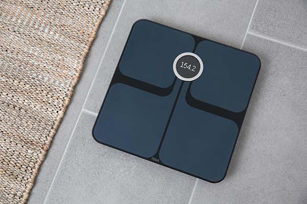 Fitbit Aria 2 Black FloorMat weight lbs