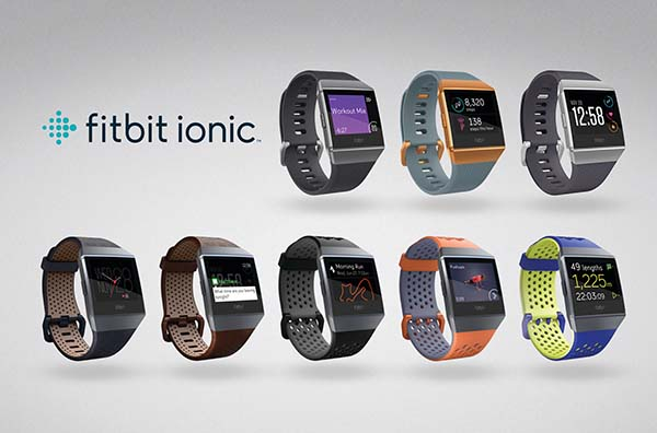 Fitbit Ionic Family LIneup
