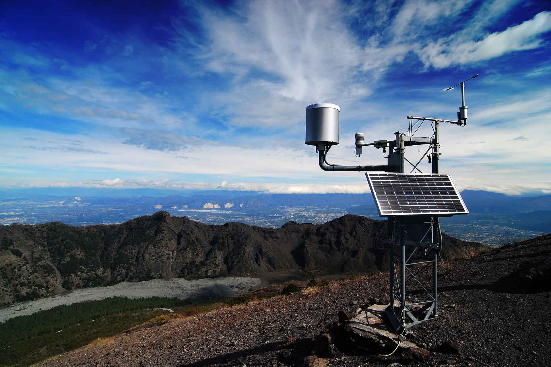 Weather station on Mount Vesuvius 2437693238