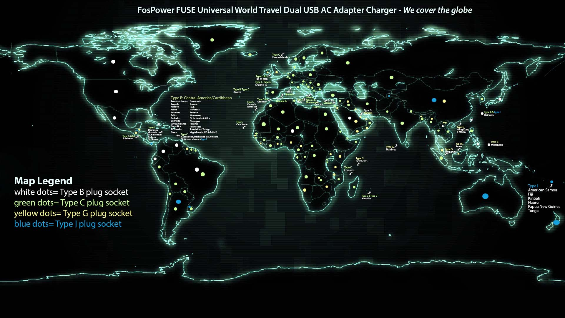 use4WP FosPower Fuse digital art digital world map