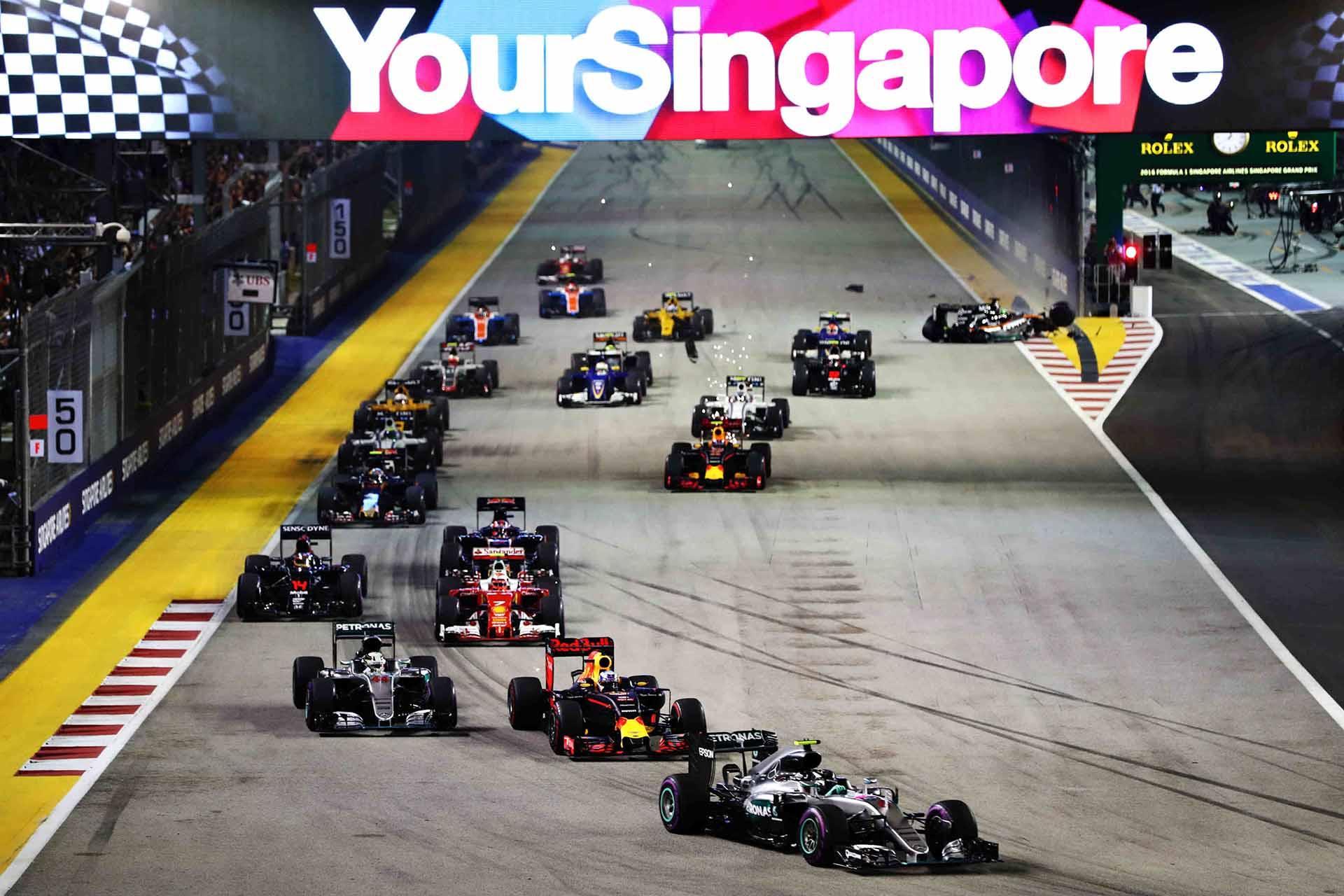 nico rosberg mercedes amg petronas f1 formula 1 formula one singapore grand prix f1 singapore grand prix pic1