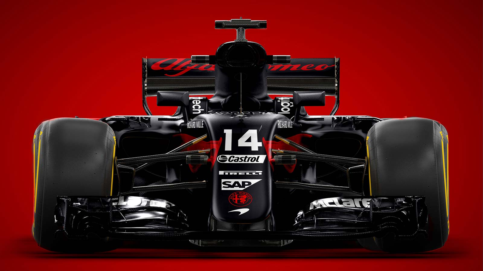 alfa romeo torna in formula 1 con la sauber foto ufficiali. Black Bedroom Furniture Sets. Home Design Ideas