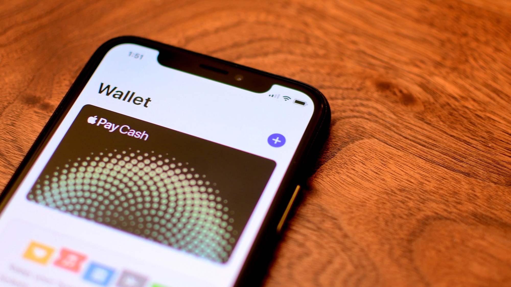 Apple Pay cash Card