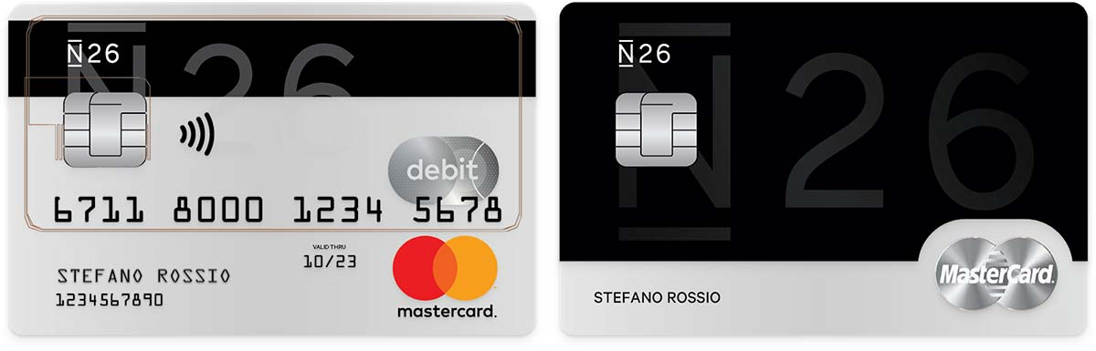 n26 cards mastercard it