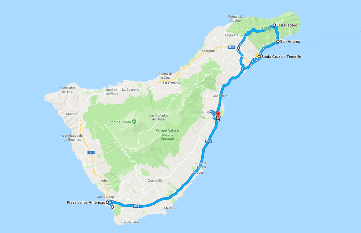 Tenerife Giorno 2