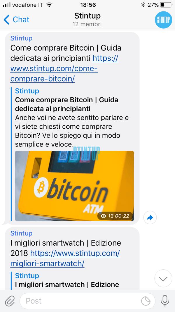 come usare Telegram
