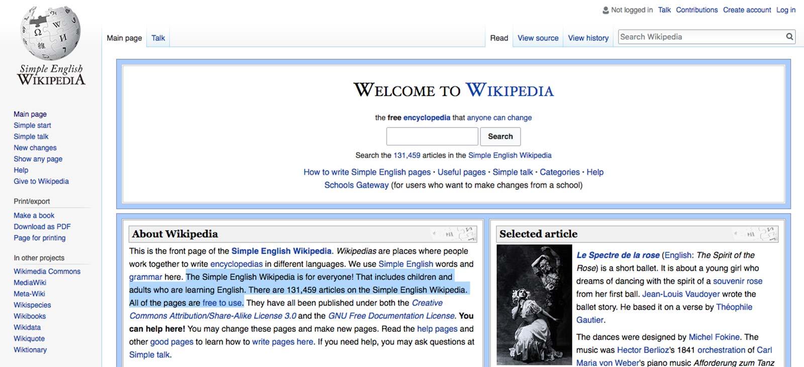 come utilizzare Wikipedia