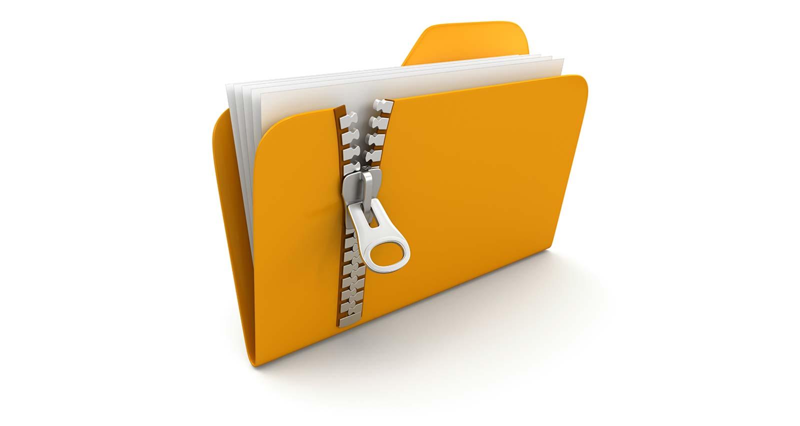 zippare foto e documenti