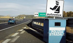 Tutor spenti Autostrade italiane