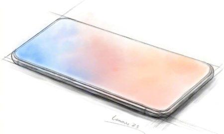 Lenovo Z5 official sketch