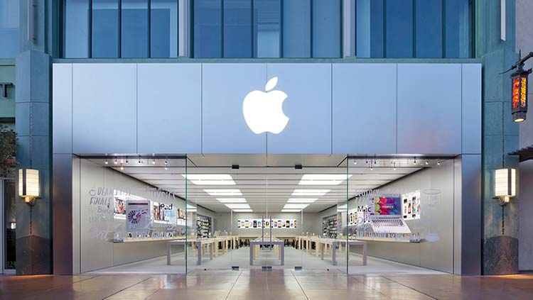Apple scende in Borsa