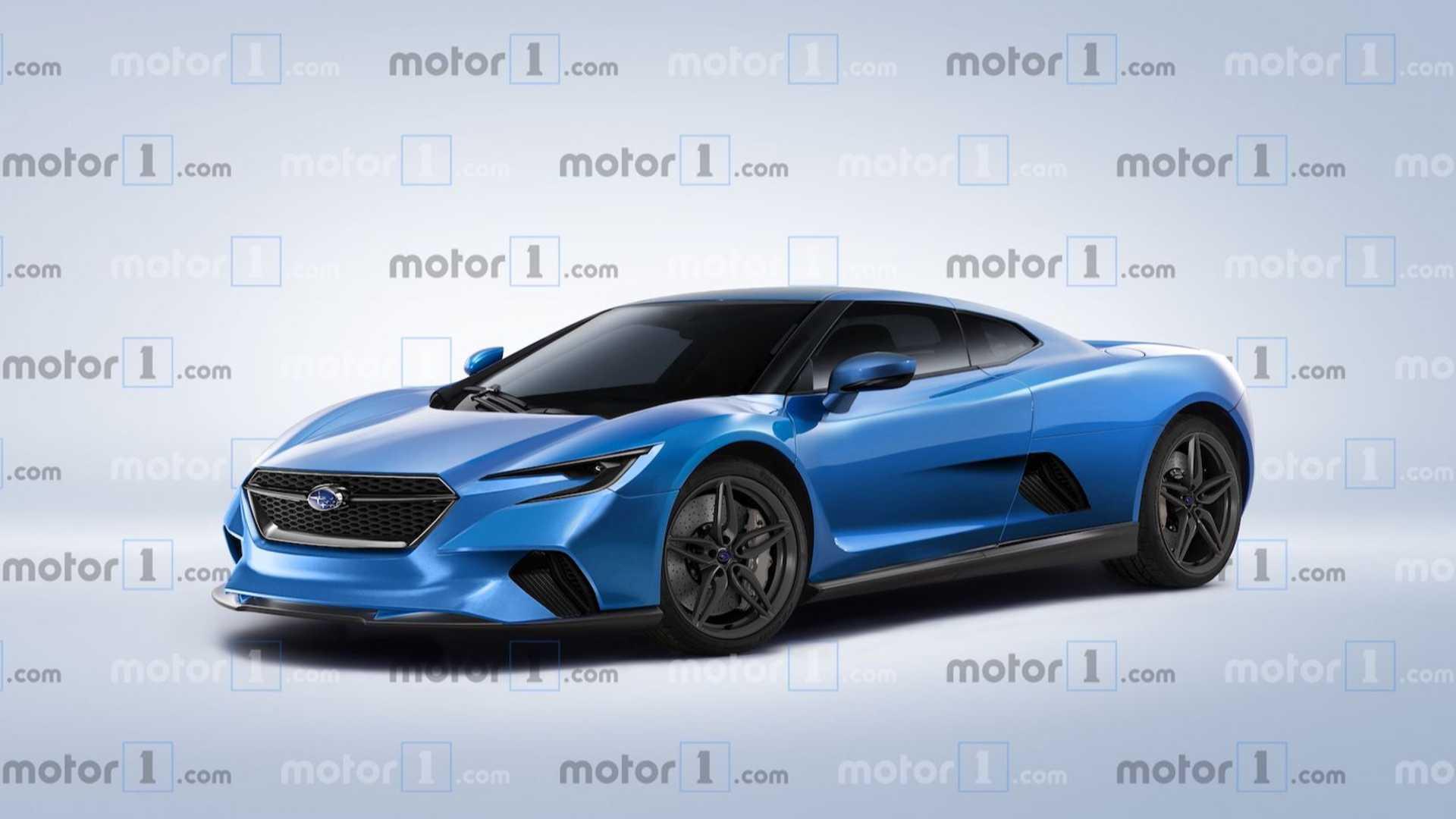 Subaru con motore centrale: in arrivo la coupé del futuro ...