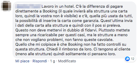 truffe su Booking