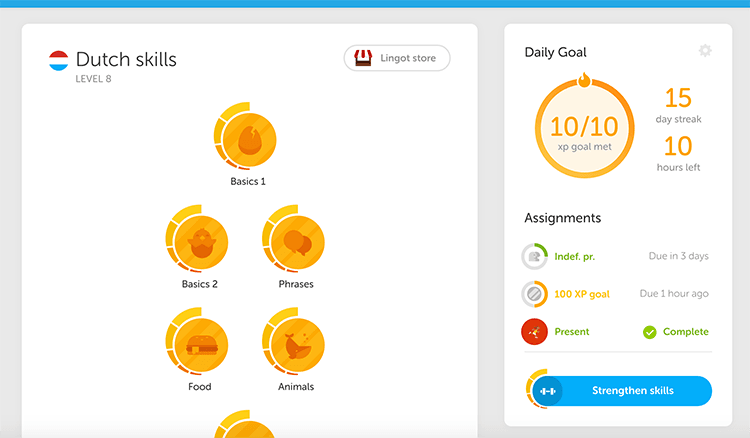 imparare lingue online