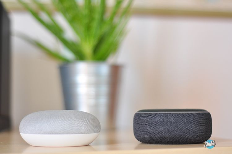 Google Home Mini vs Amazon Echo Dot