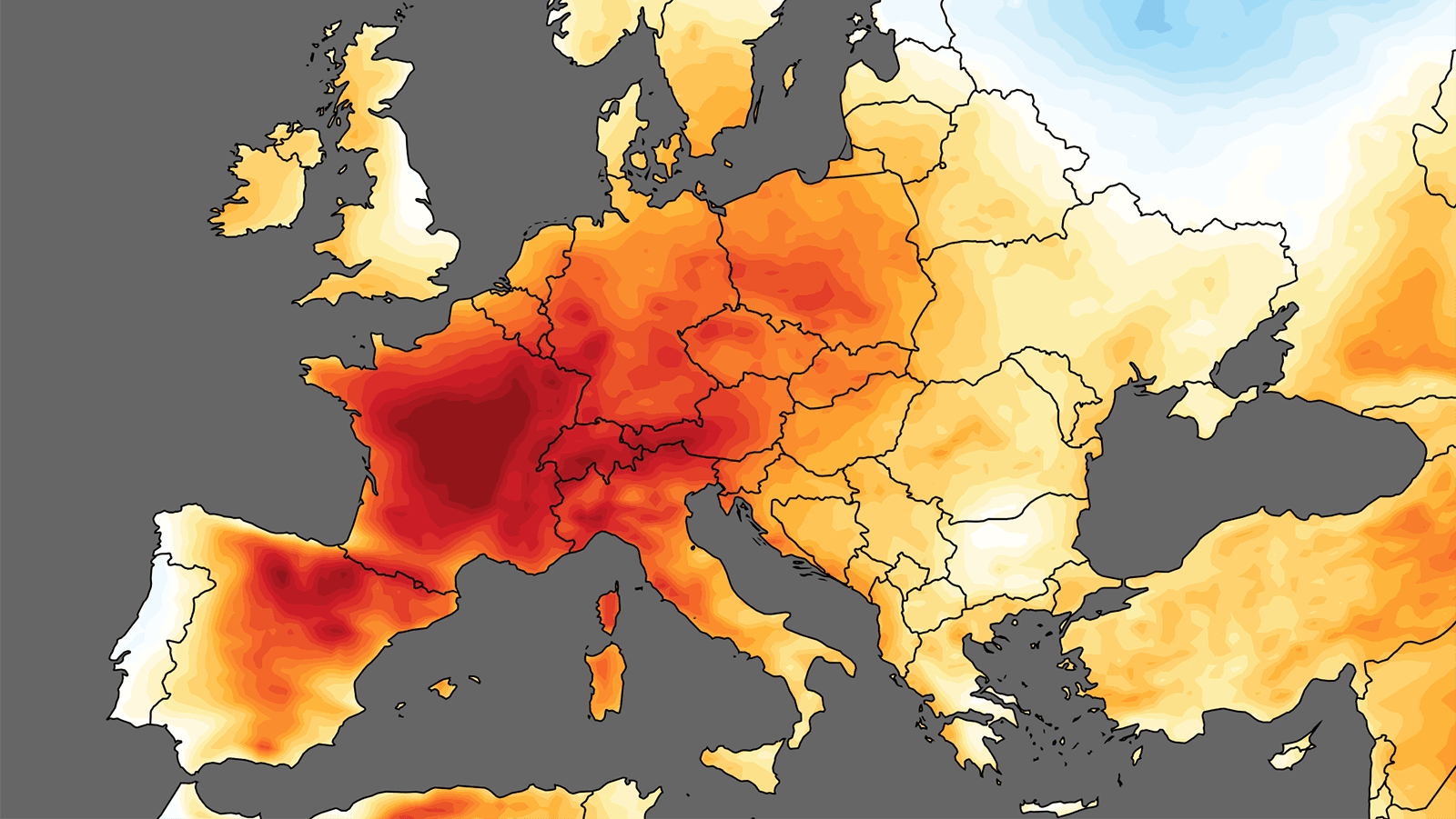 cropped map era5 daily t2m anom europe 25 29 Jun 2019 land only copia 1
